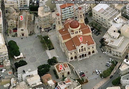ηράκλειο ναός άγιος μηνάς και μικρός άγιος μηνάς