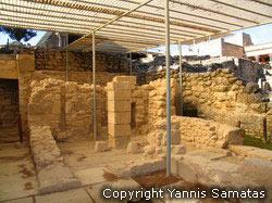 Knossos southeast side of the Palace