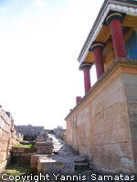 Knossos North Entrance to the Palace