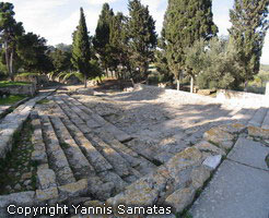Knossos Theatre and Royal Road