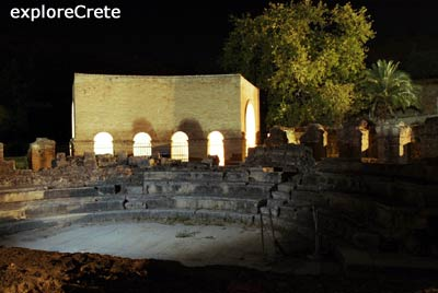 roman theater in Gortyn