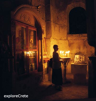 inside the greek church