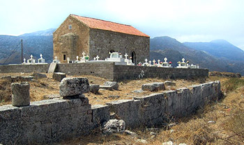 church of holy fathers in polyrinia