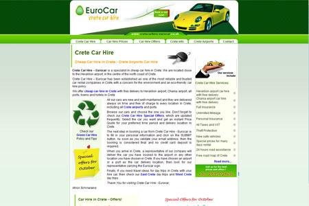 Eurocar Crete Car Hire