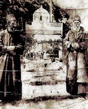 αγιος ευμενιος και αγιος παρθενιος σε παλια φωτογραφια