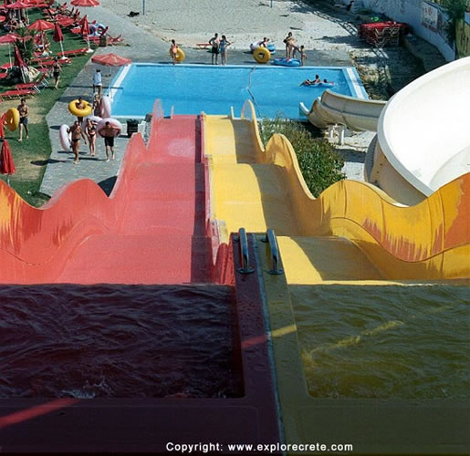 Inflatable Slide Clearwater Beach: Hersonissos Star Beach Pictures