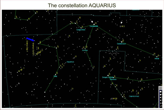 Go Back &gt Gallery For Aquarius Star Constellation