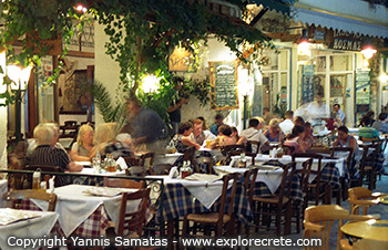 tavernas in agia galini