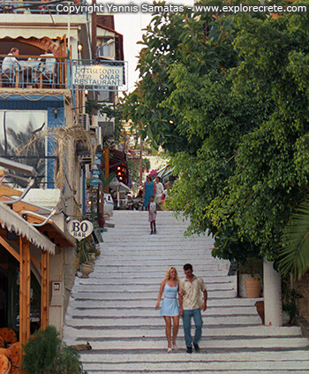 a walk in agia galini