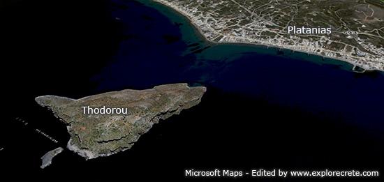 τα θοδωρου σε δορυφορικη φωτογραφια