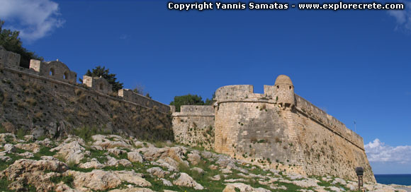 Fortezza in Rethymnon today