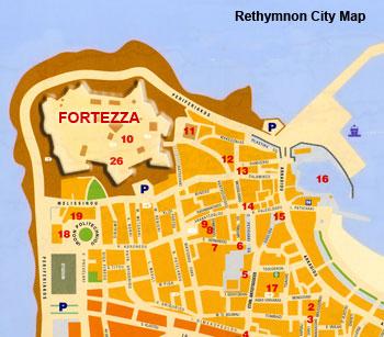 Fortezza in Rethymnon Crete