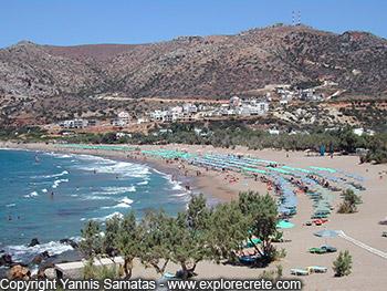 Paleochora beaches, every beach in Paleochora or near it