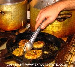 Crete Recipes: Kolokithokeftedes (Courgette Balls)