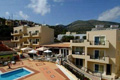 Rainbow Apartments in Stalis
