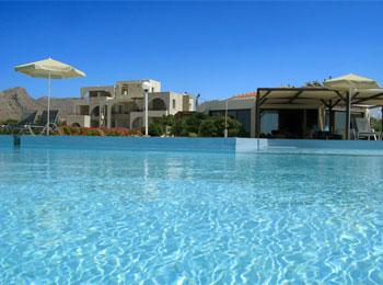 kavos beach hotel pool