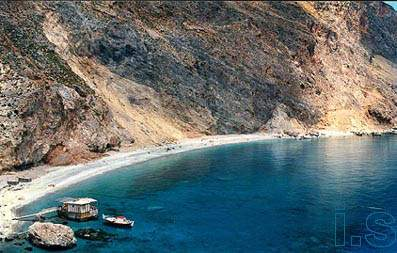 """glyka nera"" beach, close to Sfakia and Loutro"