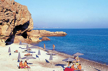 vritomartis naturists beach in crete