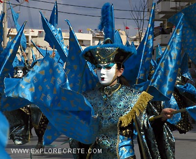 Carnival in Rethymnon