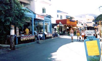 Taverns And Restaurants In Stalis Or Stalida Crete